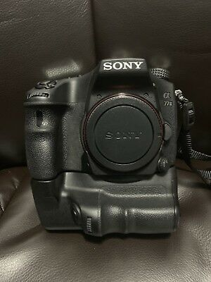 Sony Alpha a77 II 24.3MP Digital SLR Camera - Black (Body Only)