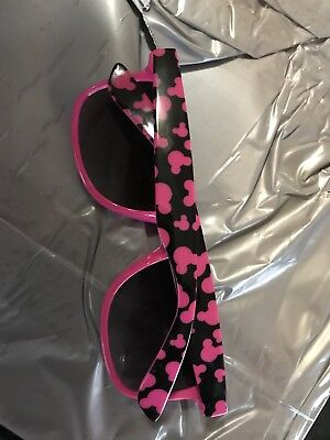 Disney Parks Sunglasses Pink And Black Mickey Adult size