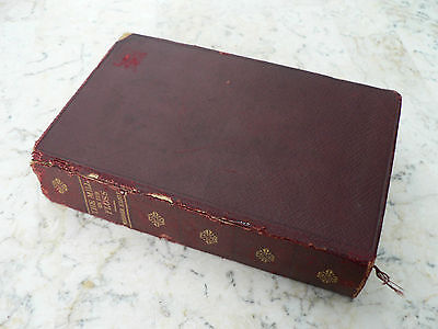 Antique Mill on the Floss George Elliot Leather C. 1910 World's Classics