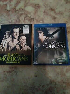 The Last of the Mohicans, Directors Cut (Blu-ray Disc 2018) Like New