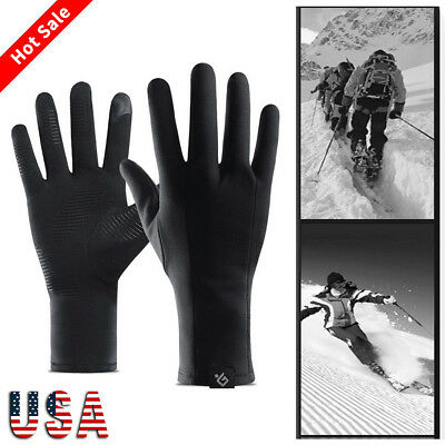 Waterproof Windproof Winter Ski Snowboard Snow Cold Gloves Warm Thermal For Mens