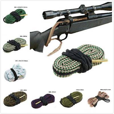 Bore Rope Cleaning Snake Calibre Rifle Barrel Gun Boresnake Cleaner Supply Tools