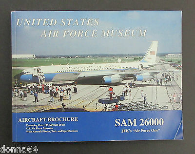 United States Air Force Museum Aircraft Paperback Book 1999 Dayton Ohio