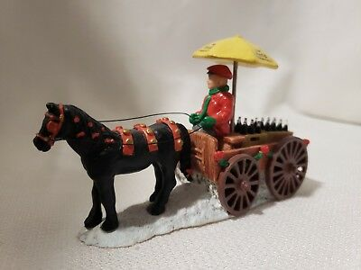 Coca Cola Town Square Collection Horse and Cart 1992