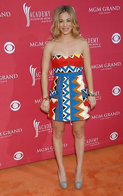 Kaley Cuoco Posing With Colorful Costume 8x10 Glossy Photo Print