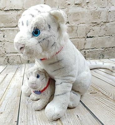 White Tiger w/Cub The Greatest Show on Earth Ringling Bros Circus Plush Toy