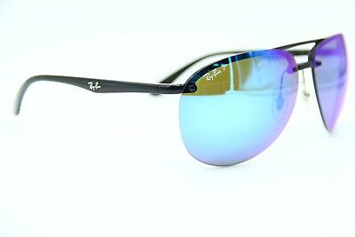 d70d55fdd5f24 RAY-BAN RB 4293-CH 601 a1 Black Sunglasses Authentic Frame Rb4293 65 ...