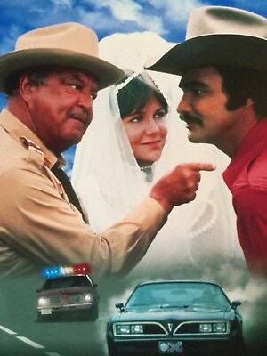 SMOKEY And The BANDIT Photo - Burt Reynolds Cast Color Glossy 8x10 Movie Print