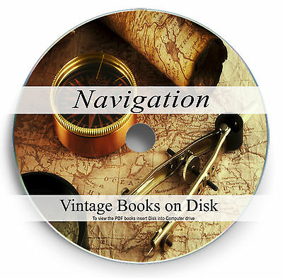 Navigation Books on DVD Nautical Celestial Compass Sextant Astronomical Maps 287