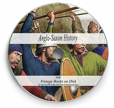215 Rare Books on DVD Anglo Saxon Myth Medieval Beliefs Legend Language Learn D0