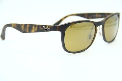 cdb14bef29 RAY-BAN RB 4263 894 a3 Havana Sunglasses Authentic Frame 55-18 W ...