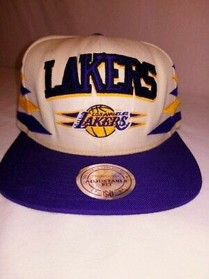 huge discount 726f5 93c1b ... coupon for mitchell ness nba los angeles lakers team 2 tone logo script  snapback cap hat