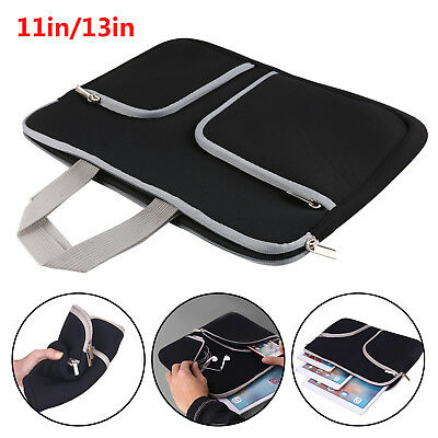 Laptop Sleeve Carry Bag Notebook Case For Apple Mac/Pro/Retina/Asus/Acer/Sony UK
