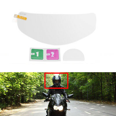 Motorcycle Helmet Lens Universal Anti-Fog High Definition Visor Film Universal