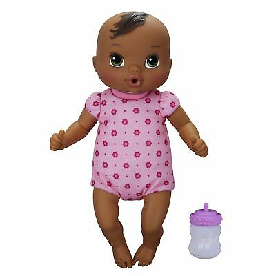 Baby Alive Luv N' Snuggle Baby Doll African American New Free Cdn Shipping