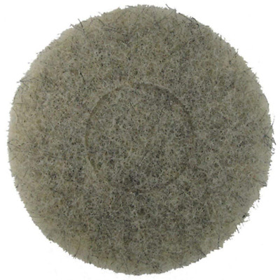 Norton Ultra Grizzly Hog's Hair Pad -- 7 3/4 Inch Diameter, New, Free Ship