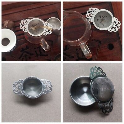 Stainless Steel Tea Strainer Infuser Mesh Filter Loose Leaf Spice Herbal