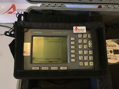ANRITSU S251C SITEMASTER CABLE AND ANTENNA ANALYSER 625-2500MHz TESTED !