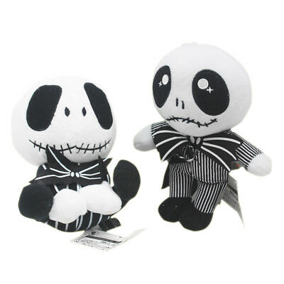 The Nightmare Before Christmas Jack Skellington Stuffed Plush Doll Toy Xmas gift