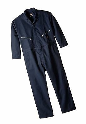f9a5007b0c Dickies Men s Big-Tall Deluxe Long Sleeve Blended Coverall Dark Navy 3X Tall