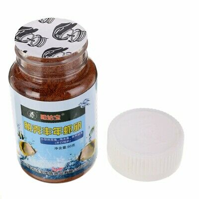50g Brine Shrimp Eggs Artemia Cycts Healthy Ocean Nutrition Fish Food Feeding