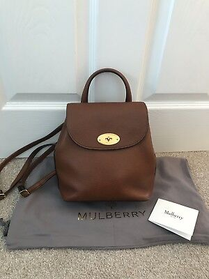 MULBERRY MINI BAYSWATER Backpack - Mulberry Oak Backpack - £360.00 ... 7e33904536
