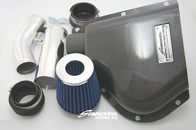 Top Cold Air Intake Simota Carbon Aero Form Sm-Pt-002 Honda Civic 1992-1995 E