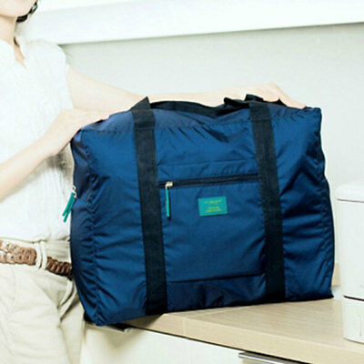 Portable Foldable Waterproof Travel Luggage Baggage Storage Carry On Duffle Bag