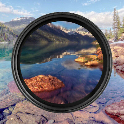 ZOMEI Adjustable Neutral Density ND2 to ND400 Lens Filter Variable Fader 52-82mm