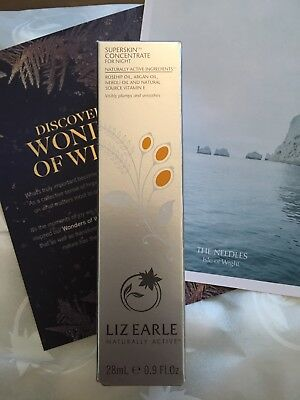 Liz Earle superskin concentrate for night Full Size 28ml new sealed free postage