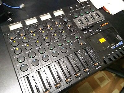 Tascam Porta Two 2 Vintage 6 ch 4 Track Cassette Tape Recorder Multitrack Mixer