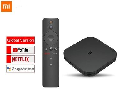 Global version Original  Xiaomi Mi TV Box S 4K HDR Android TV 8.1 2GB RAM 8Gb