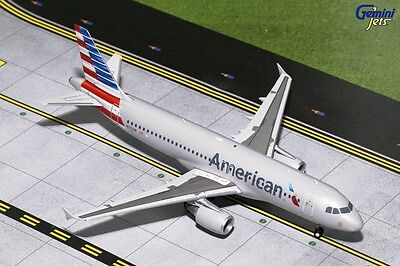 Geminijets G2Aal629 1/200 American A320 N117Uw With Stand