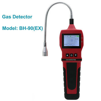 Smart Sensor Gas Leak Detector Tester CO C02 Toxic gas Warning Alarm LCD Display