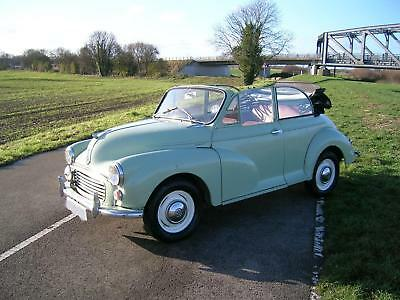 Morris Minor 1000 Convertible Historic Vehicle Project