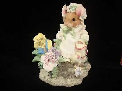 1995~Priscilla Hillman~Mouse Tales~Mary Mary Quite Contrary~Enesco~#160628