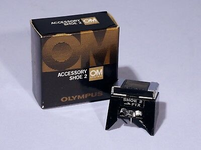 Olympus OM Accessory Shoe 2 * Boxed & Excellent+