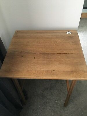 Old School Vintage Industrial Folding Desk