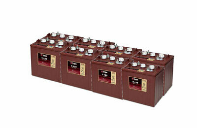 8x Trojan T125 Deep Cycle Batteries 66 240Ah - 2 Years Warranty