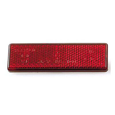 1 CATADIOPTRE ROUGE MOTO a coller feu phare ARRIERE REFLECTOR RED sticker