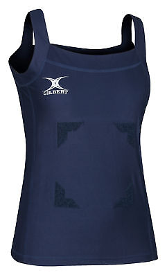 Clearance Line New Gilbert Netball Blaze Tank Top With Hook & Loop Various Sizes