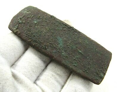 Authentic Ancient Celtic Bronze Age Flat Axe Head - H519