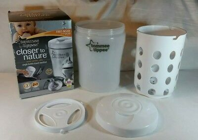 Tommee Tippee Baby Bottle Steriliser Water and Microwave Travel Single