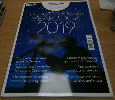 BBC Sky at Night magazine Discover Space: The Astronomer's Yearbook 2019
