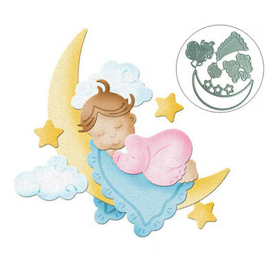 Dies Moon baby Metal Cutting Dies Stencil For DIY Scrapbooking Photo Album Embos