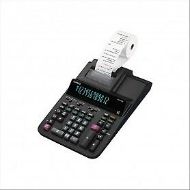 Calcolatrice scrivente FR-620RE a 12 cifre Casio - nero - FR-620RE