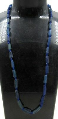 Authentic Ancient Roman Era Glass Beaded Necklace - H549
