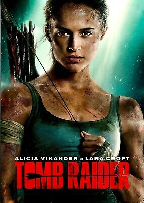Tomb Raider DVD with Special Features Brand New Sealed Quick & Free Postage