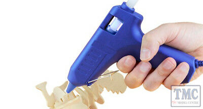 MM017UK Bachmann Modelmaker Low Temperature Glue Gun (UK Plug)
