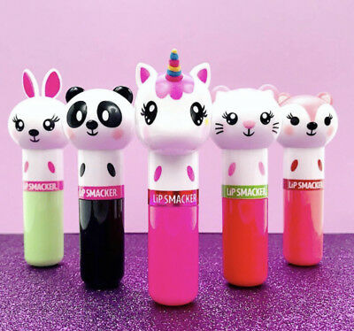 Lip Smacker LIPPY PALS Lip Balm 4g Assorted Flavours and Animal Shaped (Sealed)
